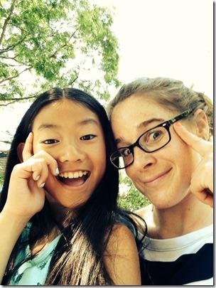 Mattie and Jen
